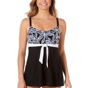 St Johns Bay 14 Swim Dress Tummy Control Bra H498
